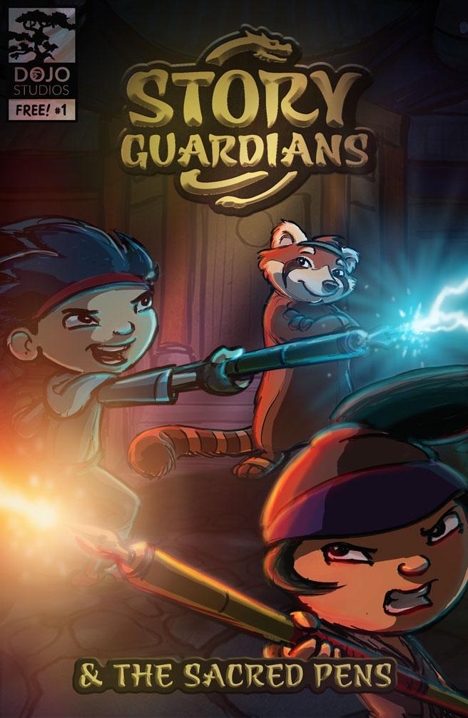 Story Guardians Digital Comics Vol-1 Cover