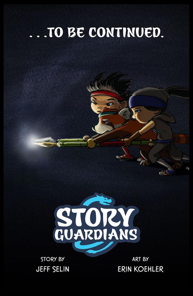 Story Guardians Digital Comics Vol-1 Credits